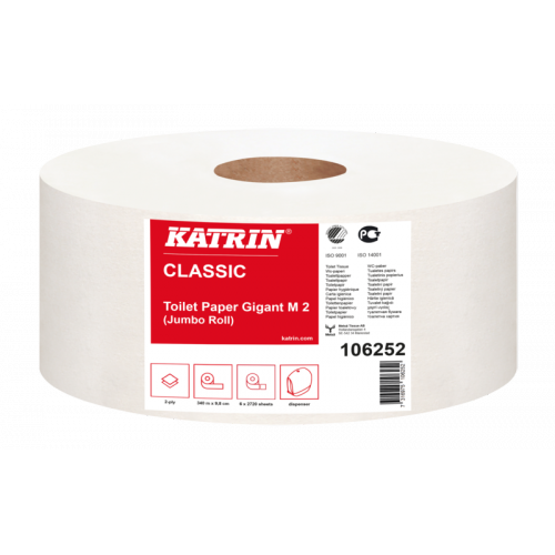 10 6252 Katrin Classic Gigant  M2 340 m/rull