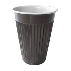 Joogitops pruun-valge automaadile 180 ml 100 tk/pk