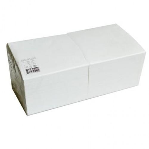 Salvrätik 1-kihiline 33x33 cm valge 400 tk/pk